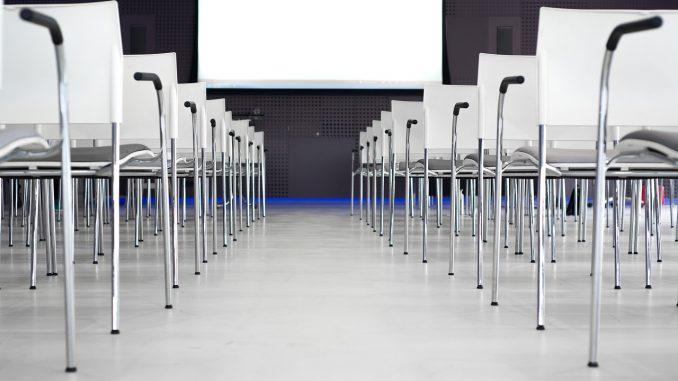 Salle pour un événement